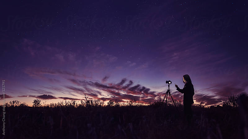 Photographing the Stars by Anthony Chang for Stocksy United