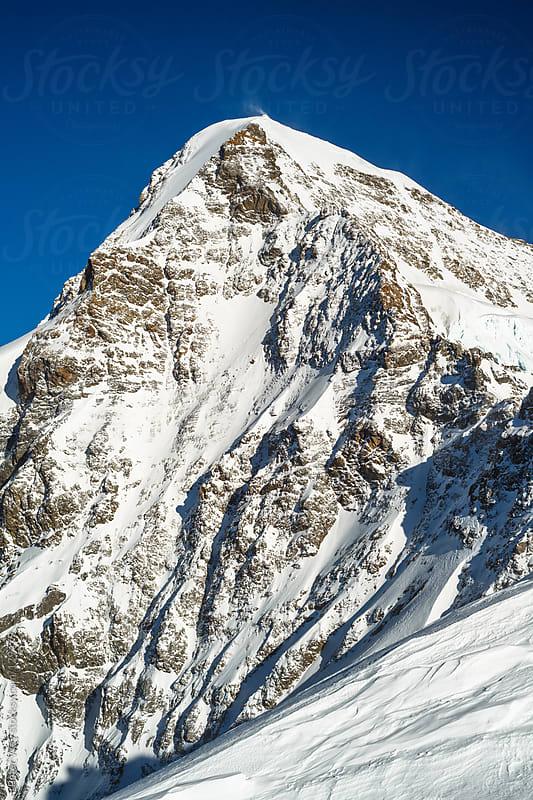 Mönch mountain peak by Peter Wey for Stocksy United