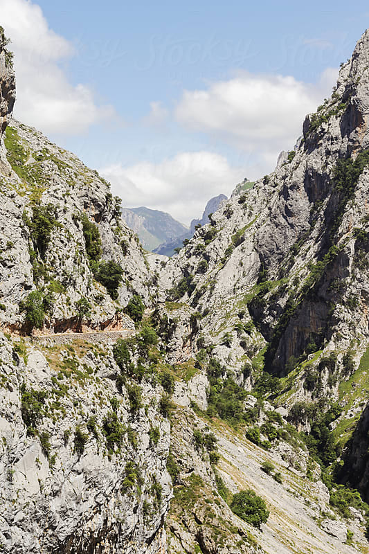 Scenery trail in Picos de Europa by Luca Pierro for Stocksy United