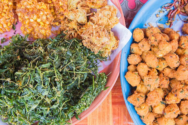 Street Food Snacks by Diane Durongpisitkul for Stocksy United