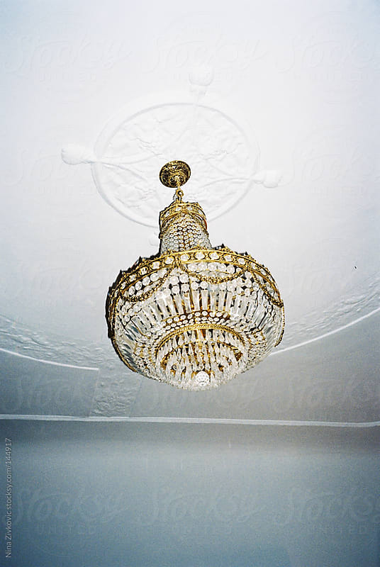 A beautiful chandelier. by Nina Zivkovic for Stocksy United