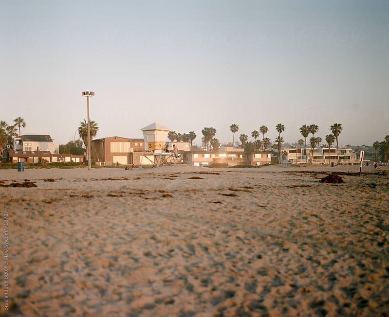 Sunset Beach by Brad & Jen for Stocksy United