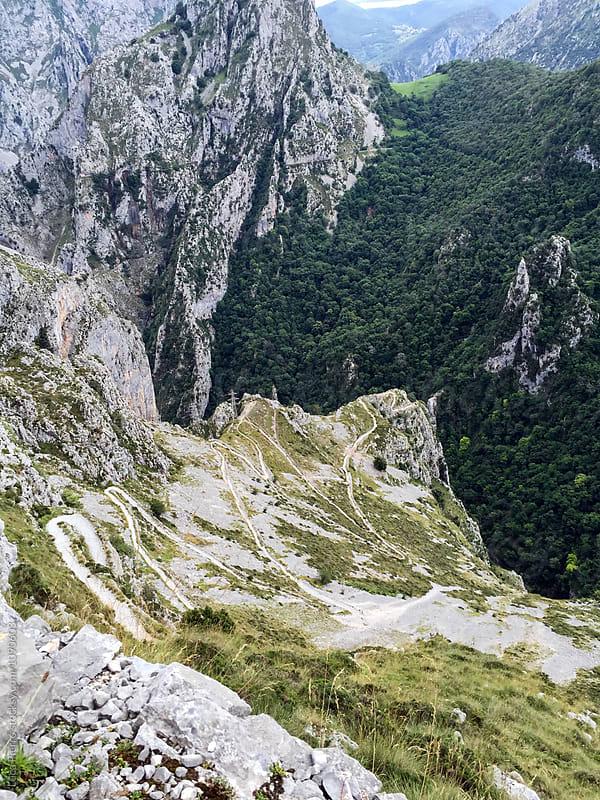 Senda de La Peña (Tresviso's Trail), Cantabria, Spain (Digital Version) by Luca Pierro for Stocksy United