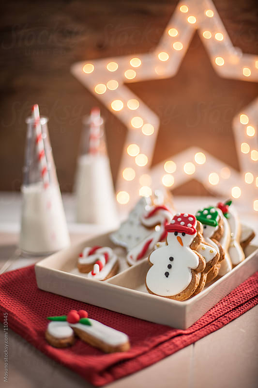 Christmas Cookies on the Table by Mosuno for Stocksy United