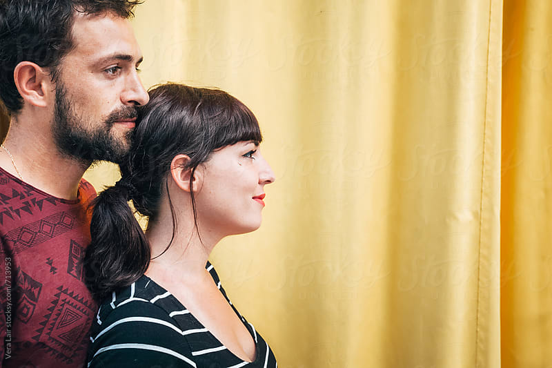 Portrait of a lovely couple by Vera Lair for Stocksy United