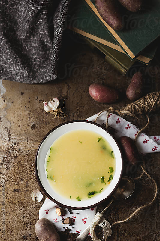 Potato soup by Tatjana Zlatkovic for Stocksy United