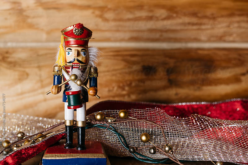 Nutcracker Toy Soldier Decoration by Gabriel (Gabi) Bucataru for Stocksy United