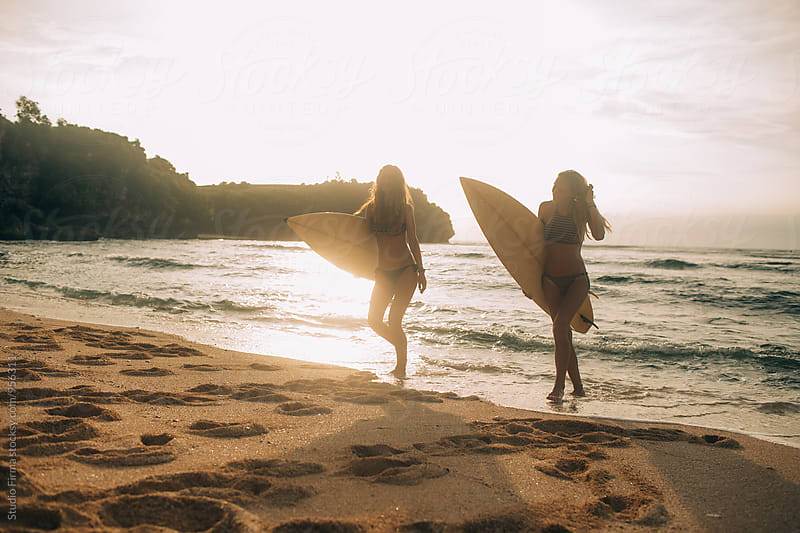 Summer Fun! Surf Time! by Studio Firma for Stocksy United