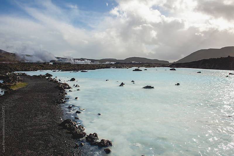 Blue lagoon, Iceland by Luca Pierro for Stocksy United