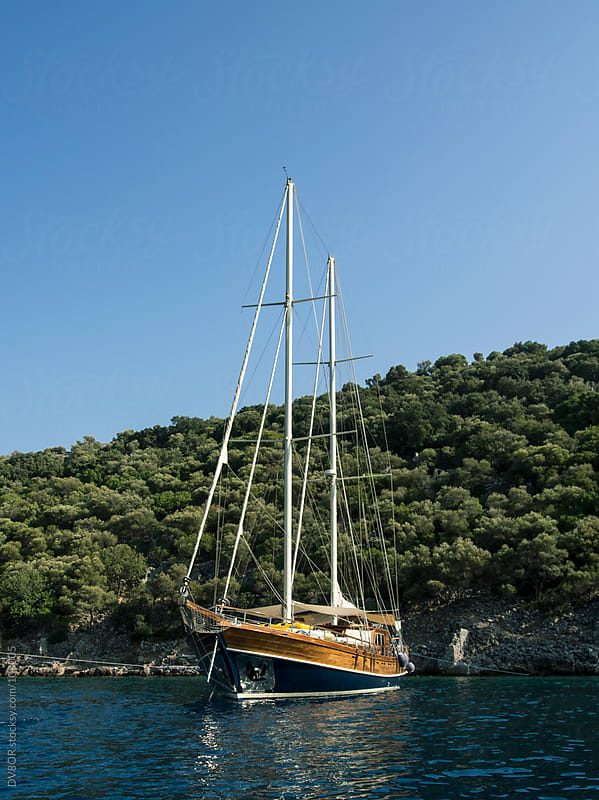 Traditional Turkish sailing boat - Gulet by DV8OR for Stocksy United