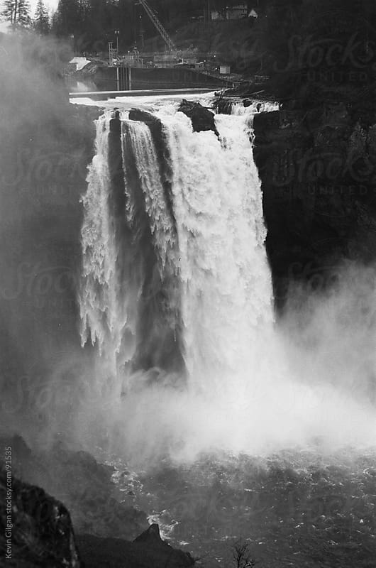 Snoqualmie Falls by Kevin Gilgan for Stocksy United
