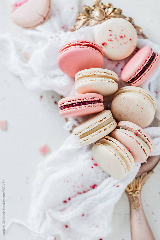 Macarons by Tatjana Zlatkovic for Stocksy United