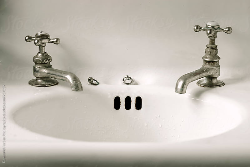 Antique Sink Faucet by Raymond Forbes LLC for Stocksy United