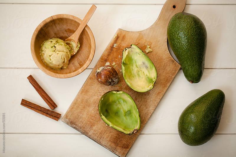 Fresh avocado. by Mosuno for Stocksy United