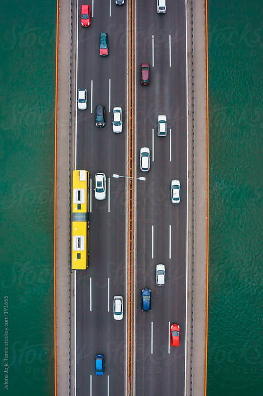 Highway from the sky by Jelena Jojic Tomic for Stocksy United