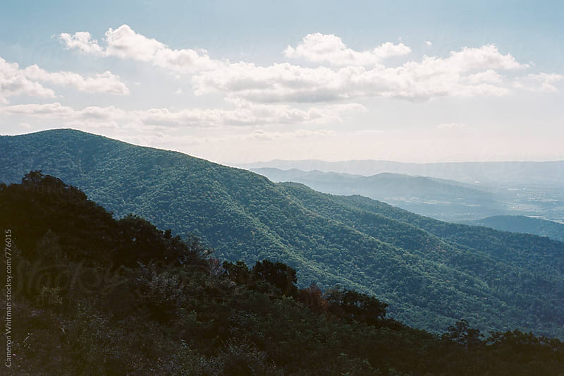 Shenendoah Valley from Skyline Drive by Cameron Whitman for Stocksy United