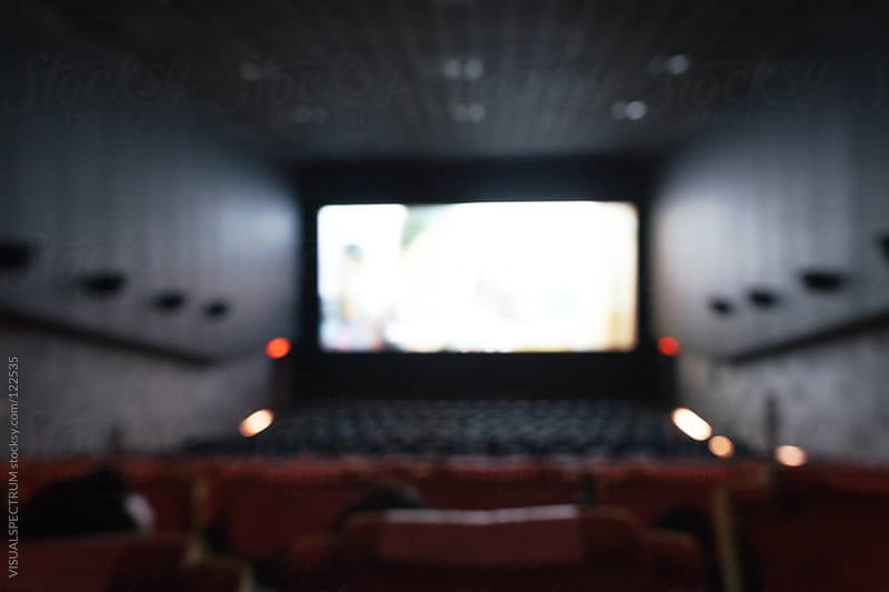 Cinema Defocused by VISUALSPECTRUM for Stocksy United