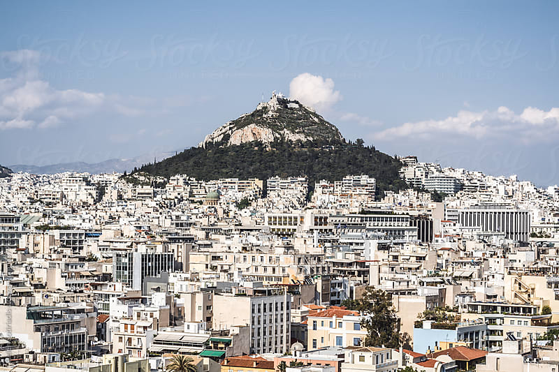 Lycabettus Hill, Athens, Greece by Helen Sotiriadis for Stocksy United