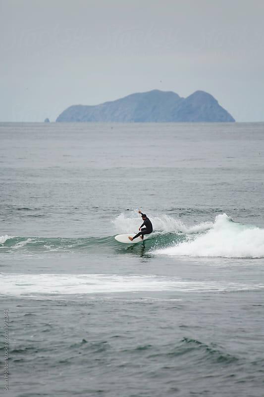 Greg Surfing Cabrillo 2