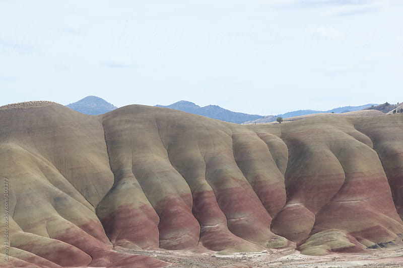 The Painted Hills Oregon by Carey Haider for Stocksy United