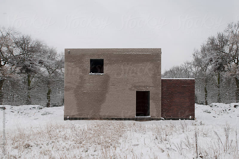 Architectural winter by Koen Van Damme for Stocksy United