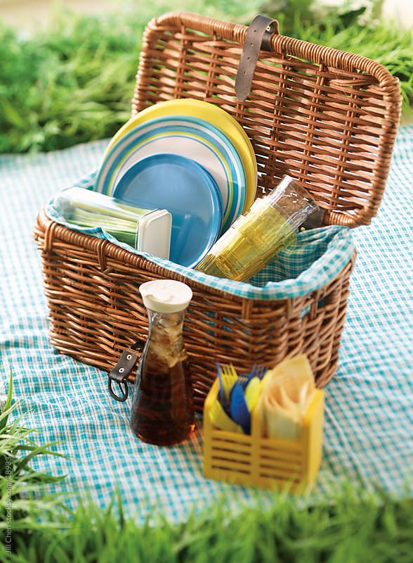 Picnic Basket by Jill Chen for Stocksy United