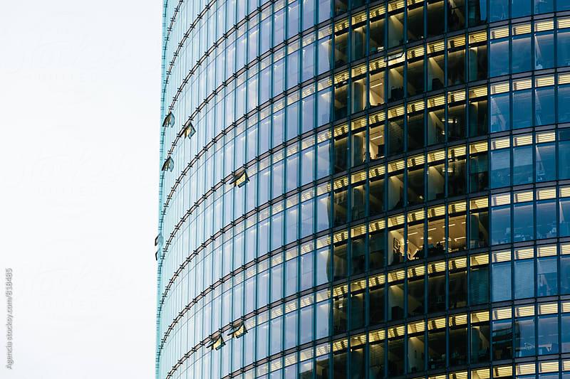 Curved Skyscraper by Agencia for Stocksy United