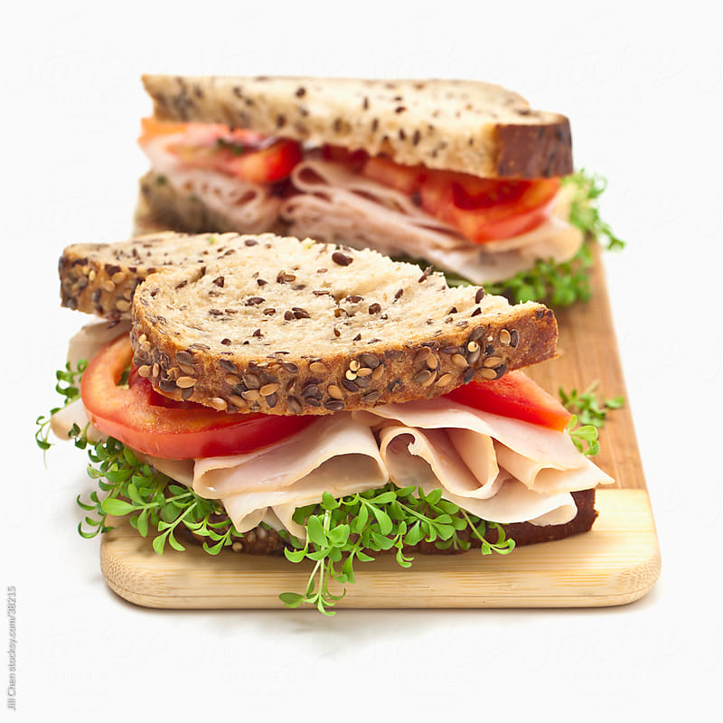 Healthy Sandwich by Jill Chen for Stocksy United