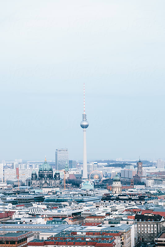 Berlin Skyline by Agencia for Stocksy United
