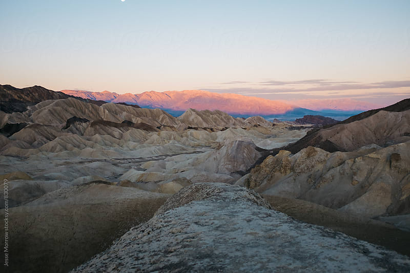 sunrise death valley national park landscape by Jesse Morrow for Stocksy United