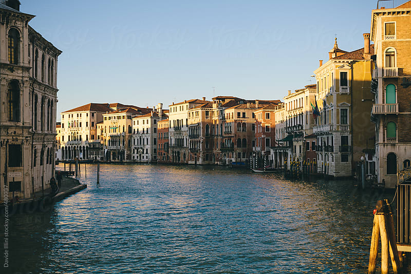 Grand Canal in Venice. by Davide Illini for Stocksy United