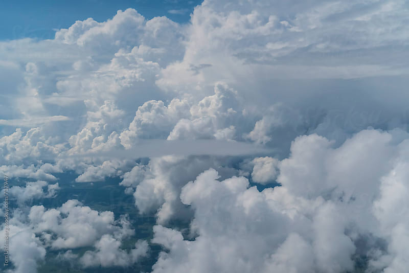 Cloudscape Background by Tom Uhlenberg for Stocksy United