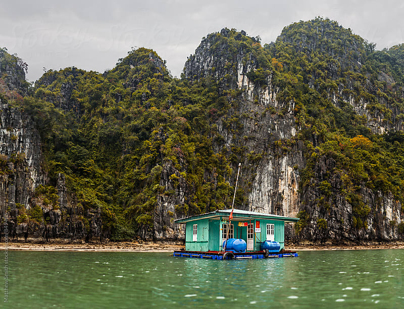 Floating House in Halong Bay, Vietnam. by Matthew Smith for Stocksy United