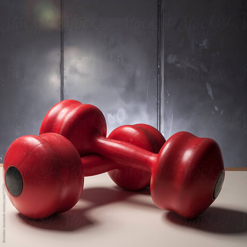 Dumbbell Weights by Brkati Krokodil for Stocksy United