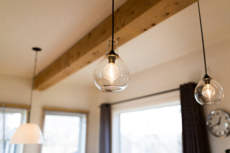 Modern pendant lights by Carey Shaw for Stocksy United