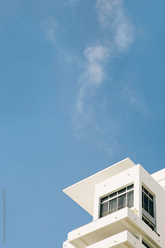 Modern Architecture on Miami Beach by Stephen Morris for Stocksy United