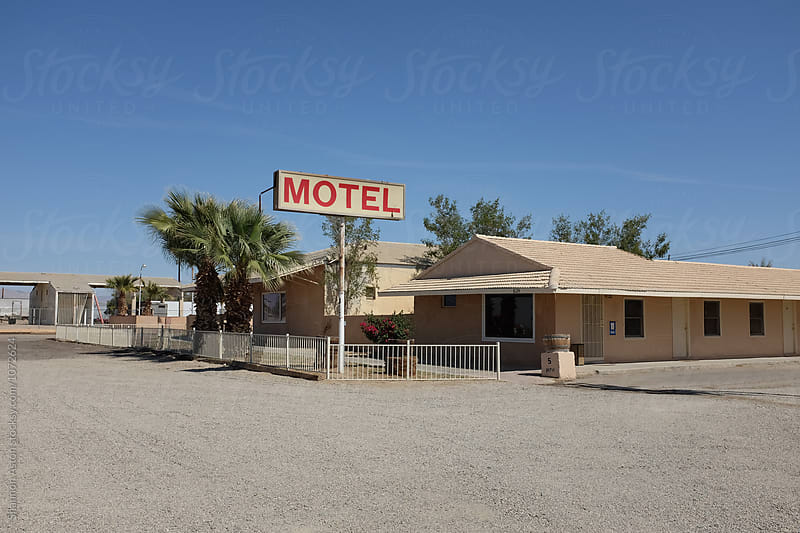 Old motel, CA by Shannon Aston for Stocksy United