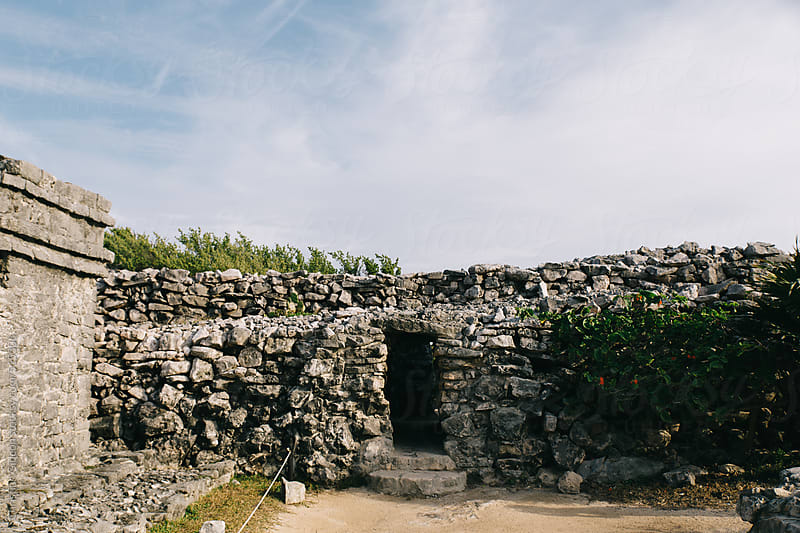 Mayan Ruins in Tulum by Christian Gideon for Stocksy United