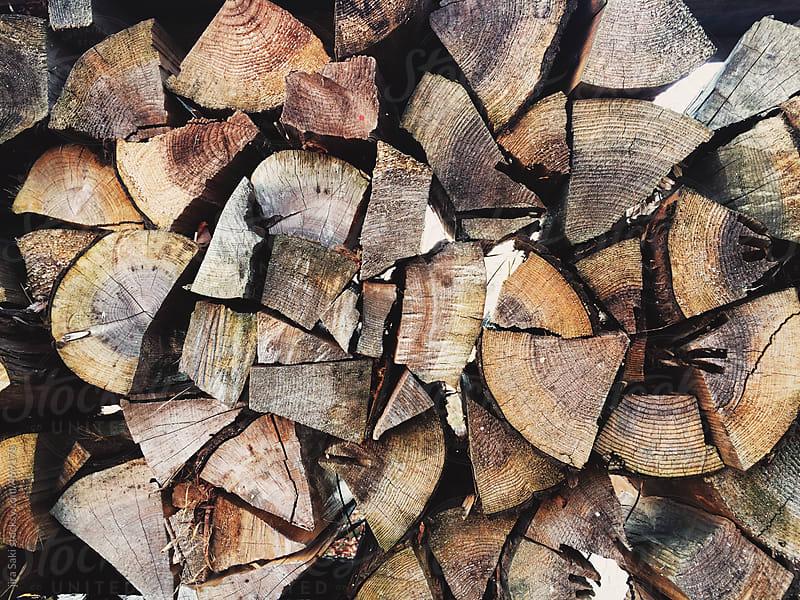 firewood by jira Saki for Stocksy United
