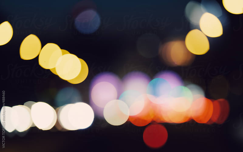 Bokeh City Lights by VICTOR TORRES for Stocksy United