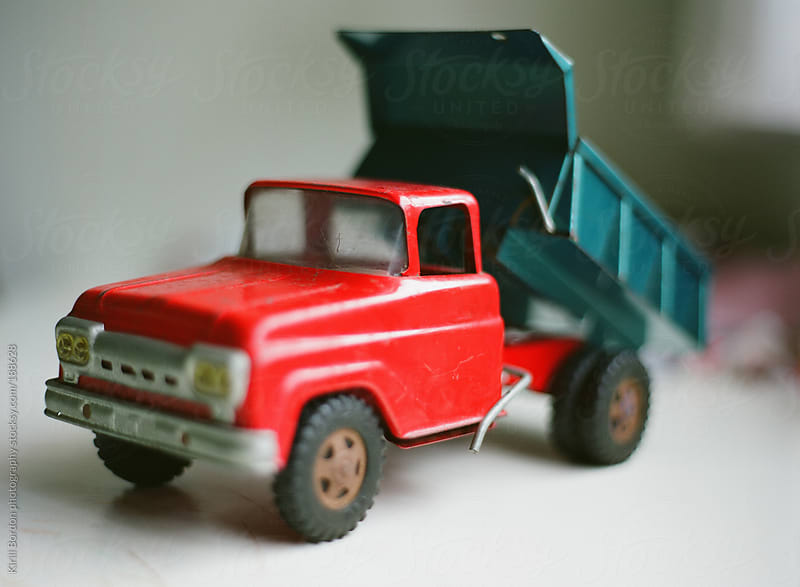 old toy truck by Kirill Bordon photography for Stocksy United