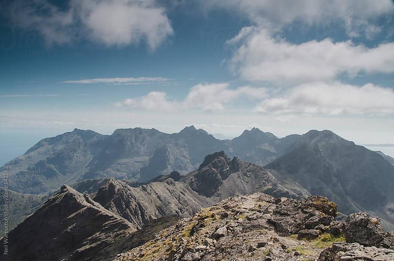 The Cuillin Ridge by Neil Warburton for Stocksy United