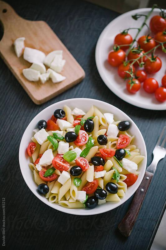 Pasta Salad by Davide Illini for Stocksy United