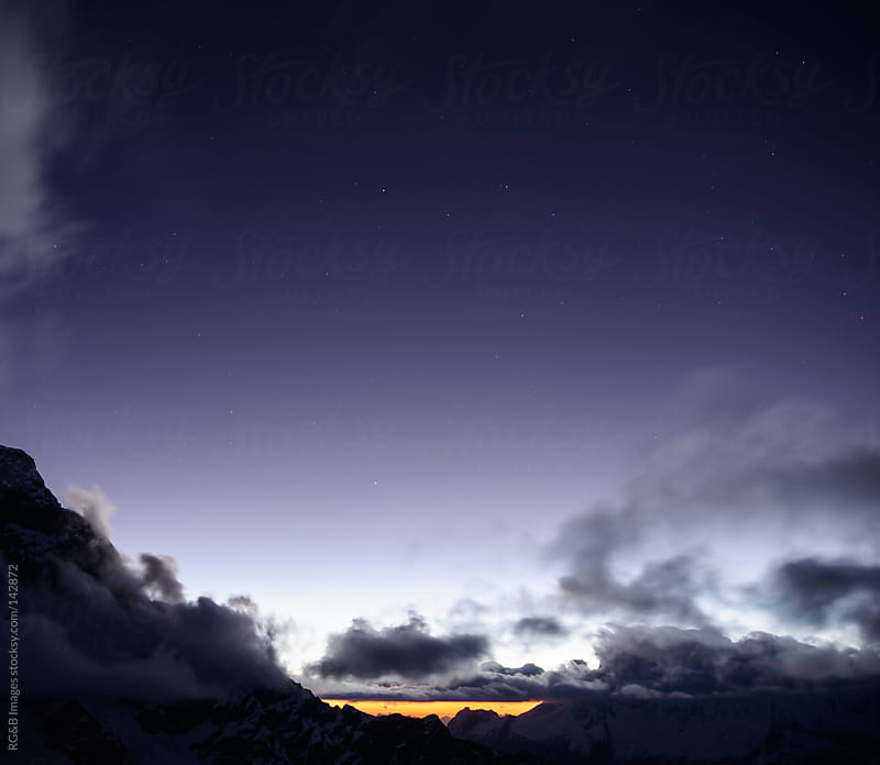 Last sunbeams in Andes by RG&B Images for Stocksy United