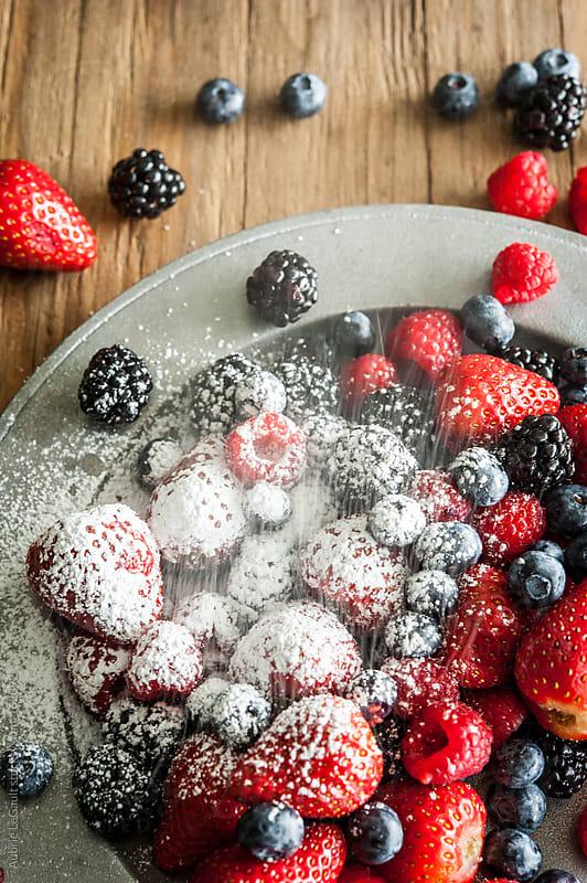 Powder Sugar Berries by Aubrie LeGault for Stocksy United