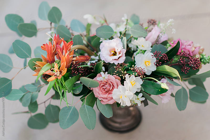 Beautiful flowers bouquet by Adrian Cotiga for Stocksy United