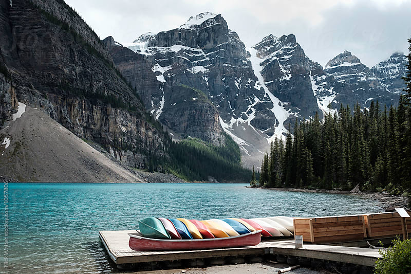 Lake Louise by Nick Walter for Stocksy United