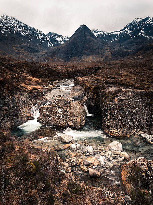 Fairy Pools, Glen Brittle, Isle of Skye by Rich Jones for Stocksy United