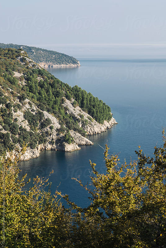 View along Cres Island, Adriatic Sea, Croatia. by Thomas Pickard for Stocksy United