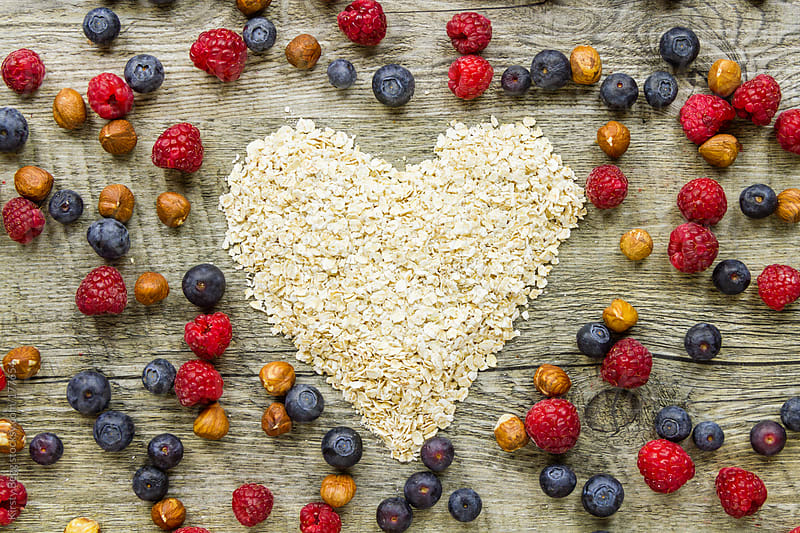 Heart of oats by Kirsty Begg for Stocksy United